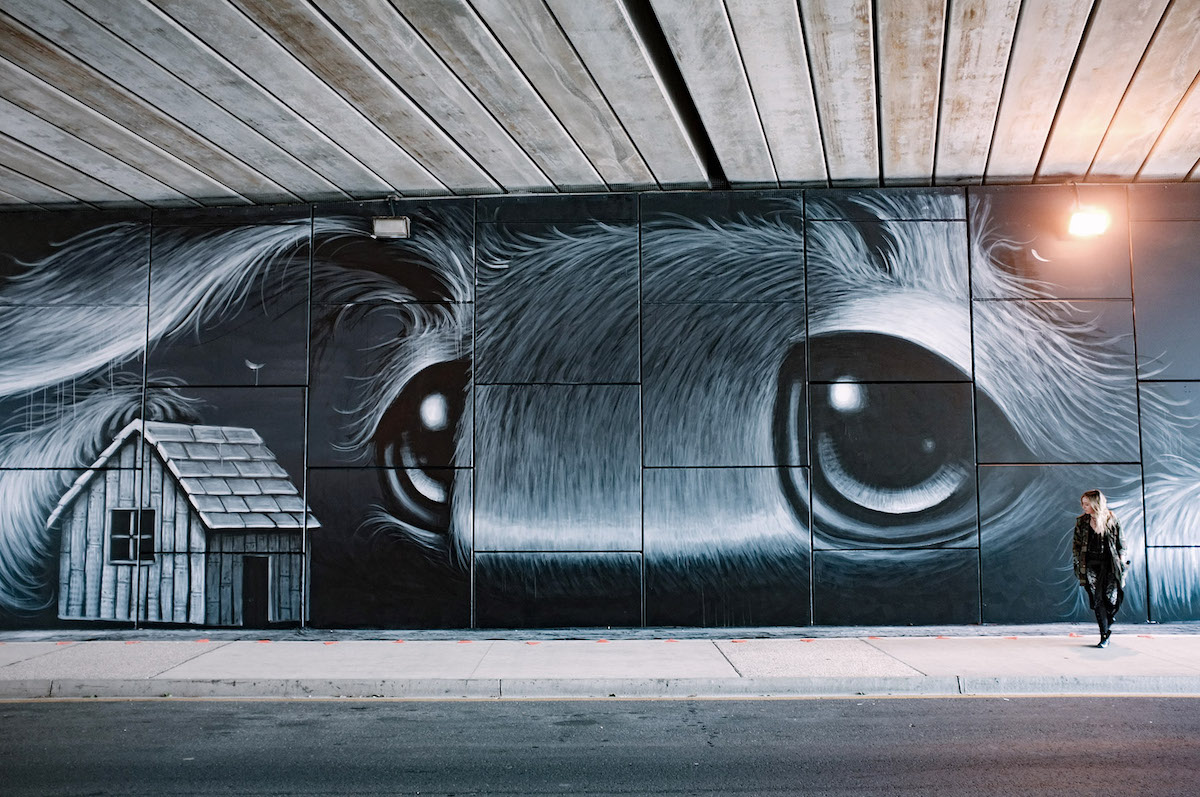 Mural de Hayley Welsh