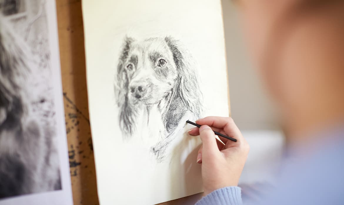 Want To Sketch A Pup Learn How To Draw A Dog In 5 Simple Steps