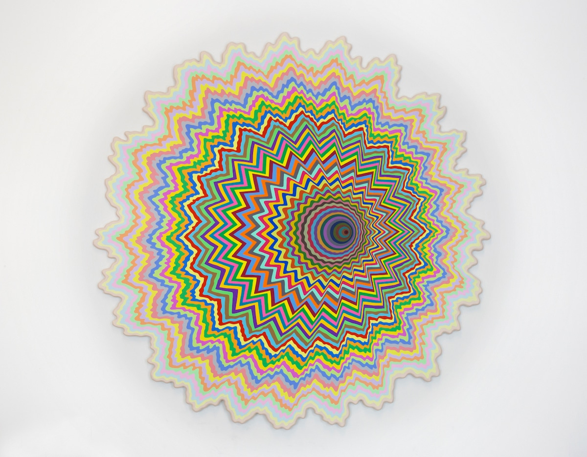 Optical Illusion Art by Jen Stark