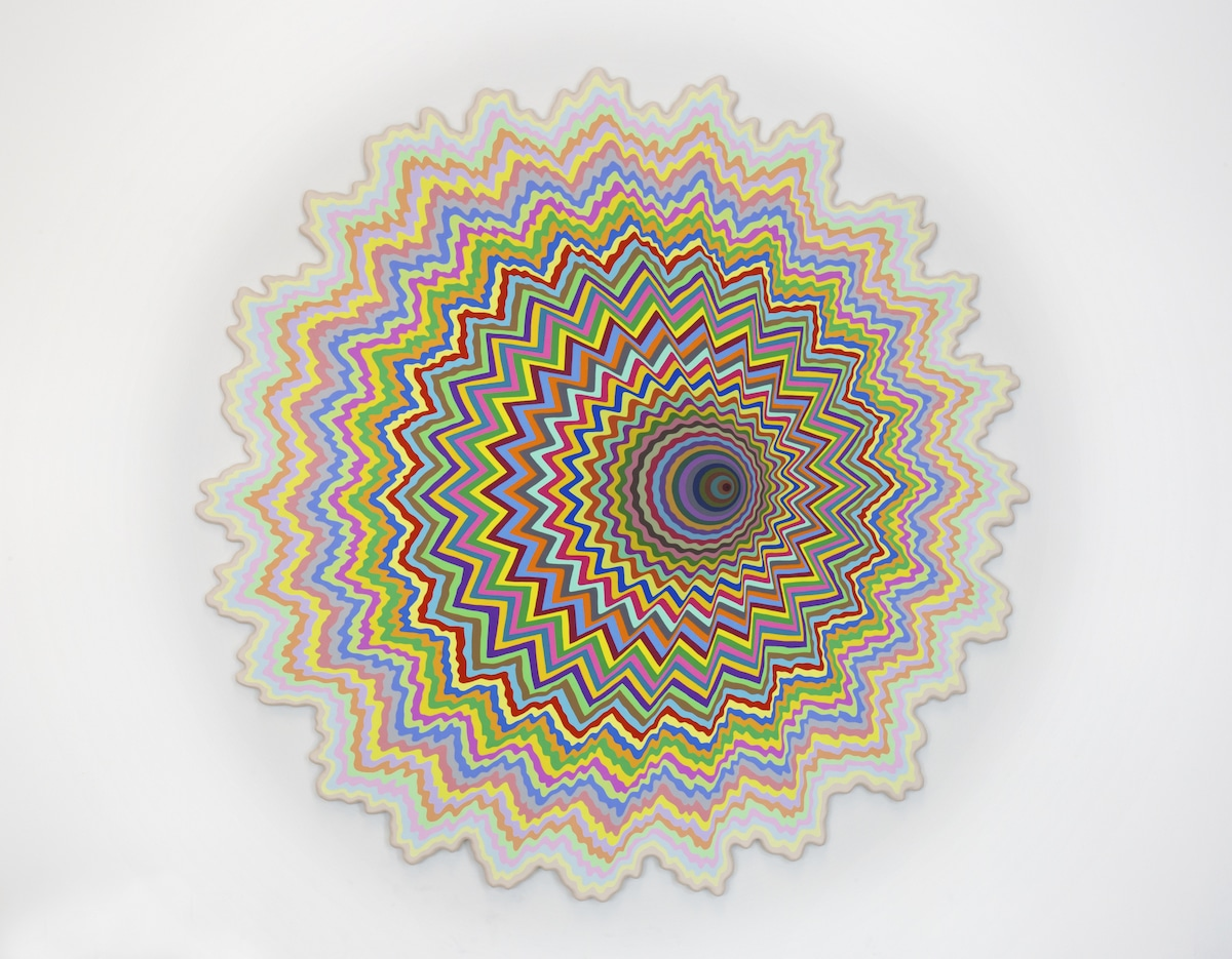 Arte de colores por Jen Stark