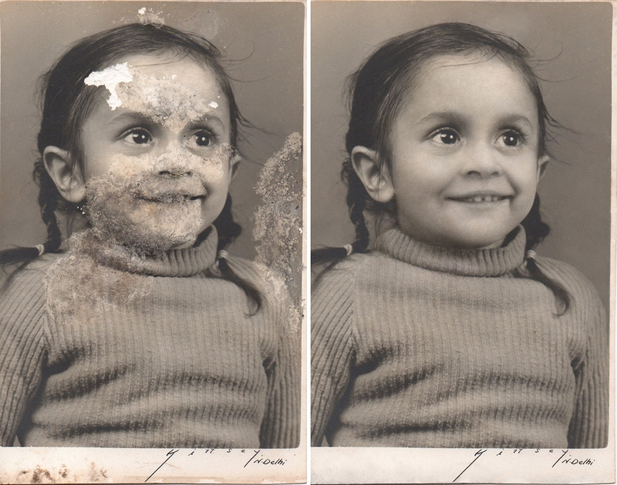 Photo Restoration by Michelle Spalding