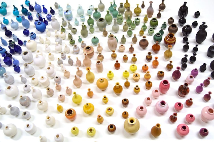 Miniature Vases by Yuta Segawa