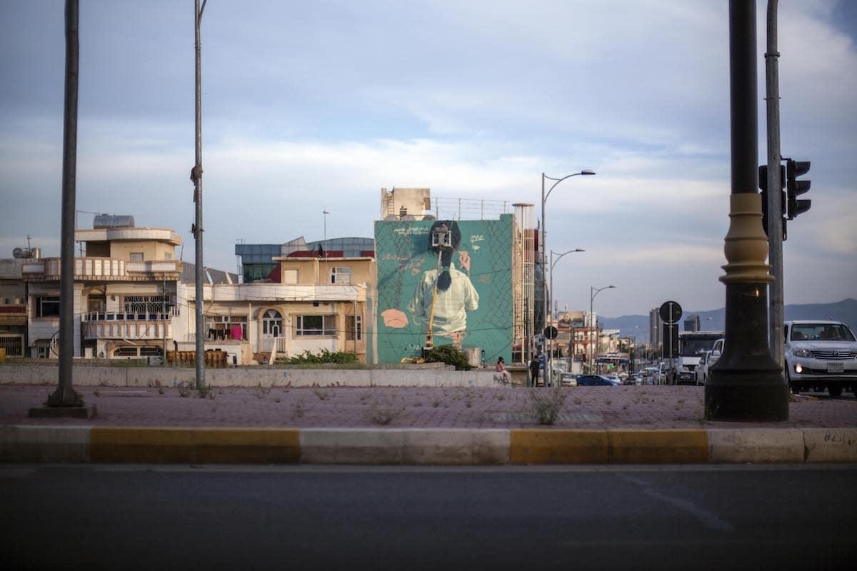 Street Art in Iraq