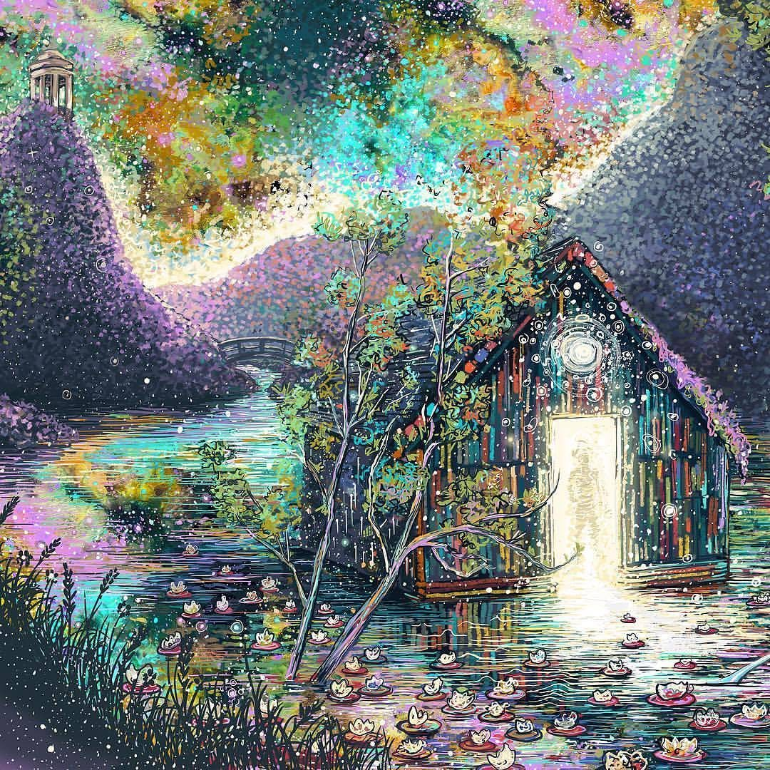 Pastel Art by James R. Eads
