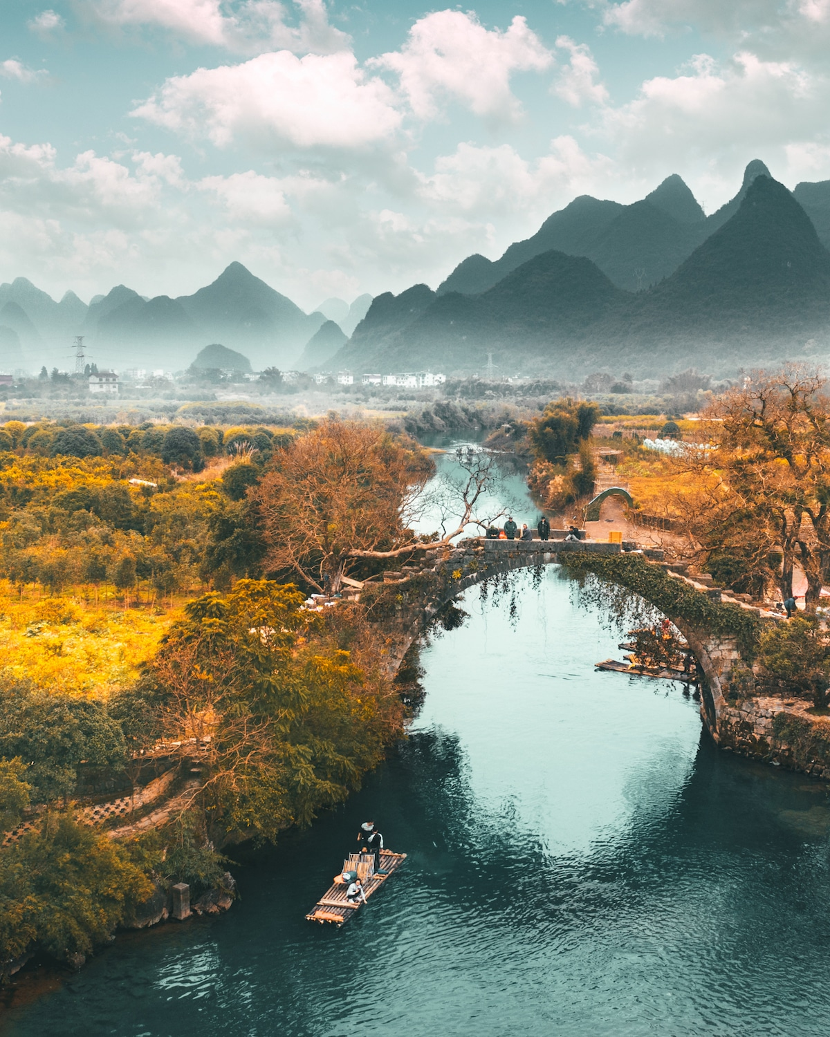 Yangshuo China Landscape