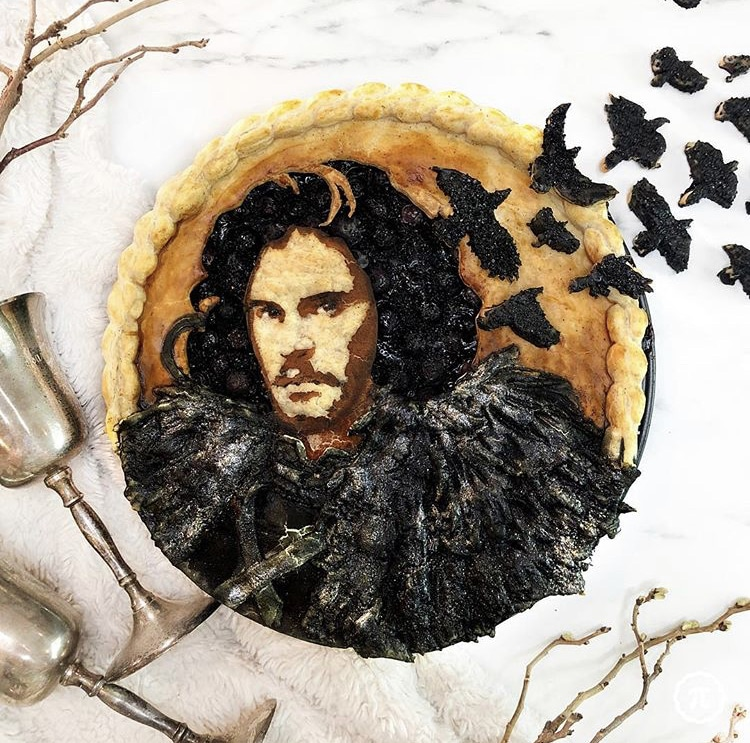 tarta de juego de tronos por The Pieous / pastel de Game of thrones por Jessica Leigh Clark-Bojin