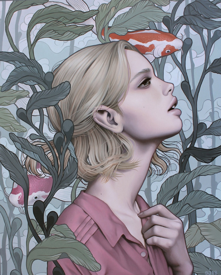 Paintings of Women by Sarah Joncas