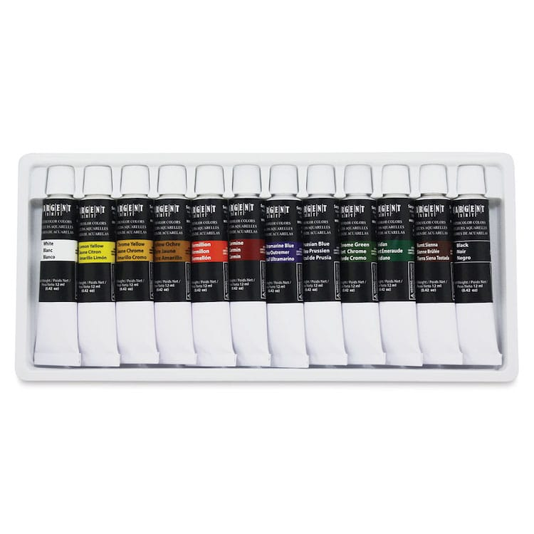 Sargent Watercolor Set