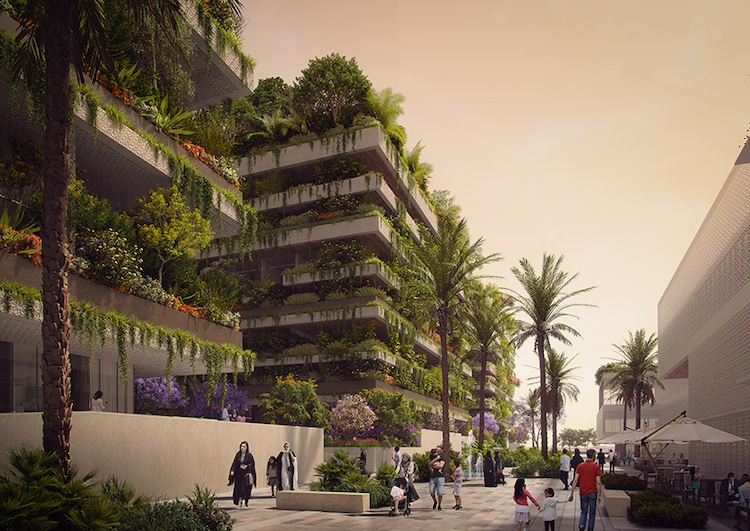 Vertical Forest in Cairo by Stefano Boeri