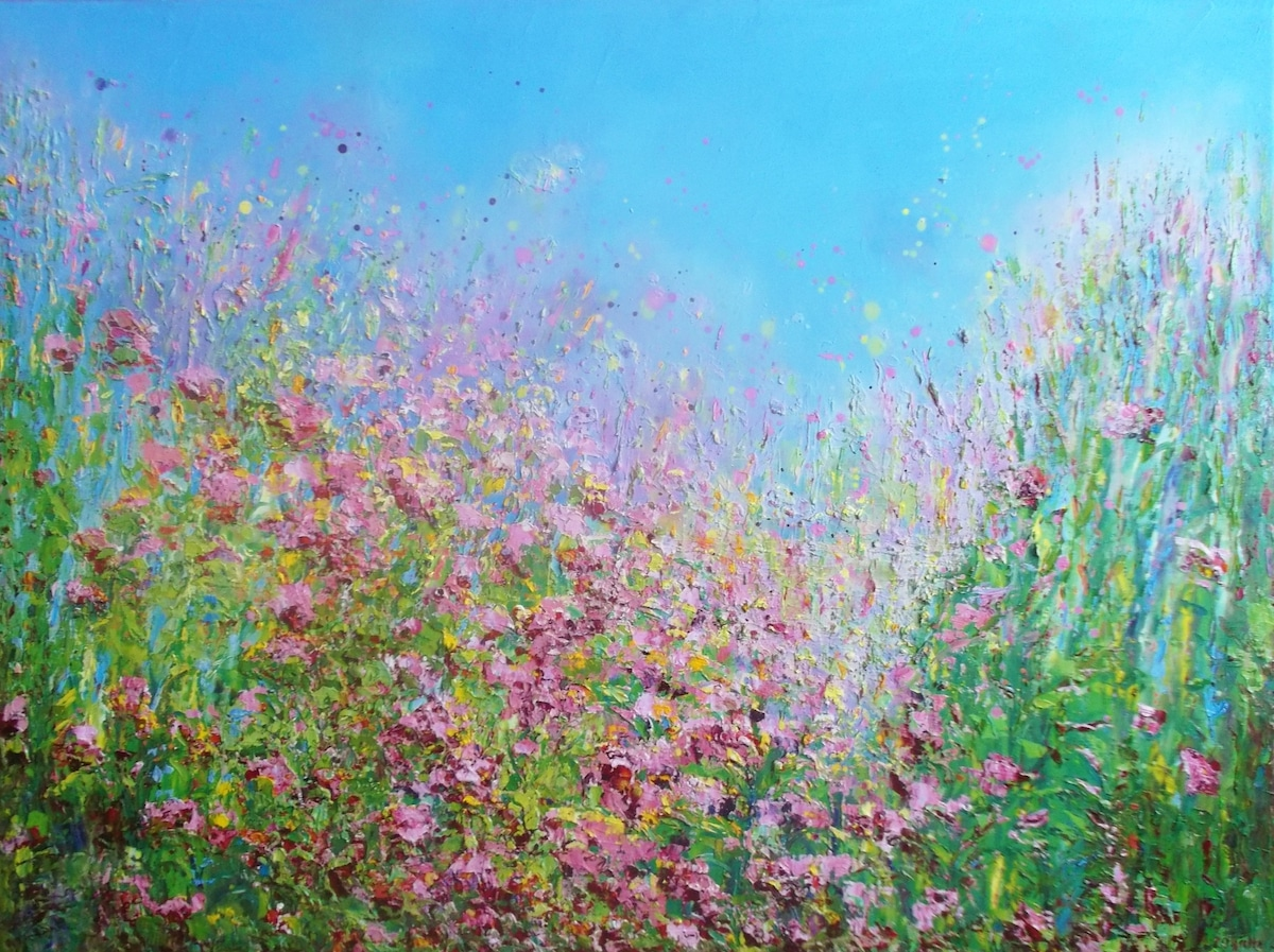 Paintings of Flowers by Therese O'Keeffe