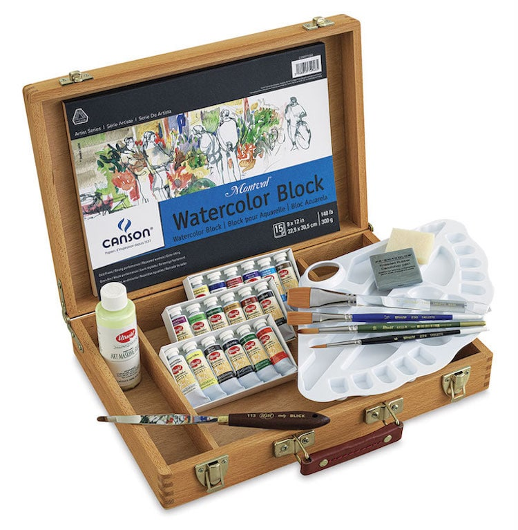 Utrecht Watercolor Paint Set