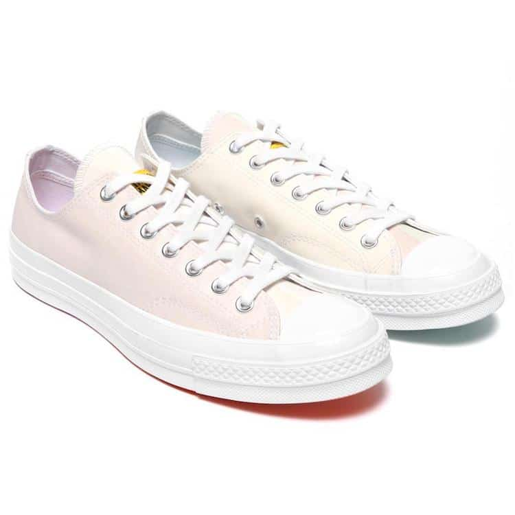 converse blancas / UV Rainbow Converse x Chinatown Market