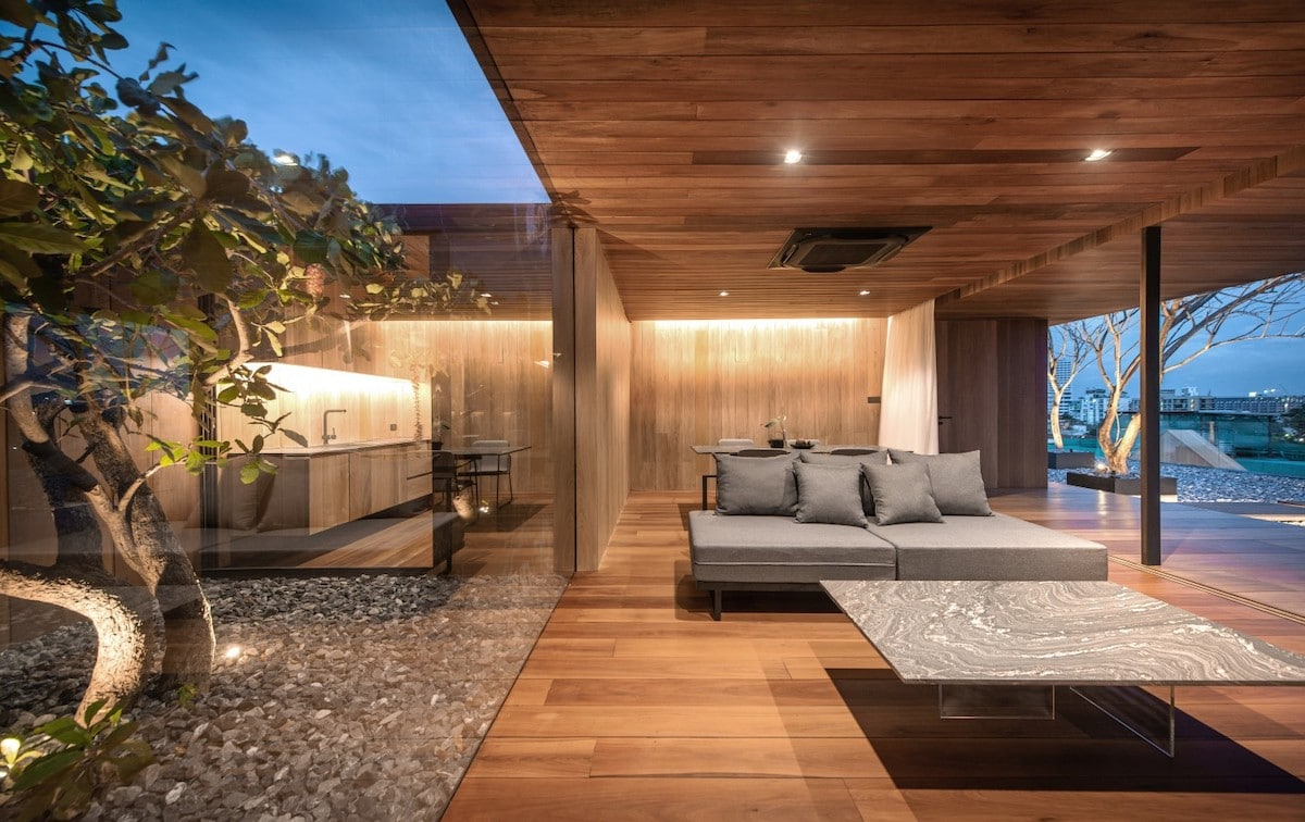 Wood Clad Contemporary Architecture