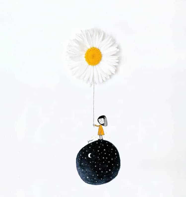 Ilustraciones tridimensionales por Jesuso Ortiz