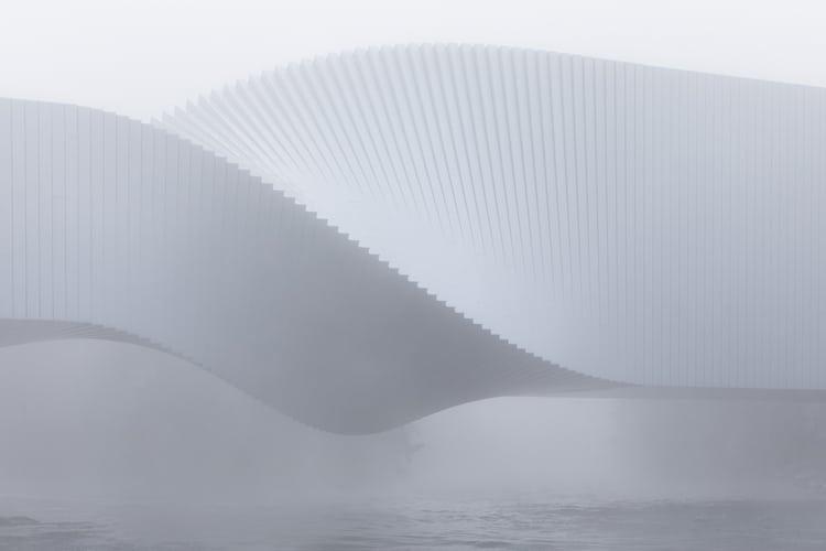 puente contemporáneo por BIG