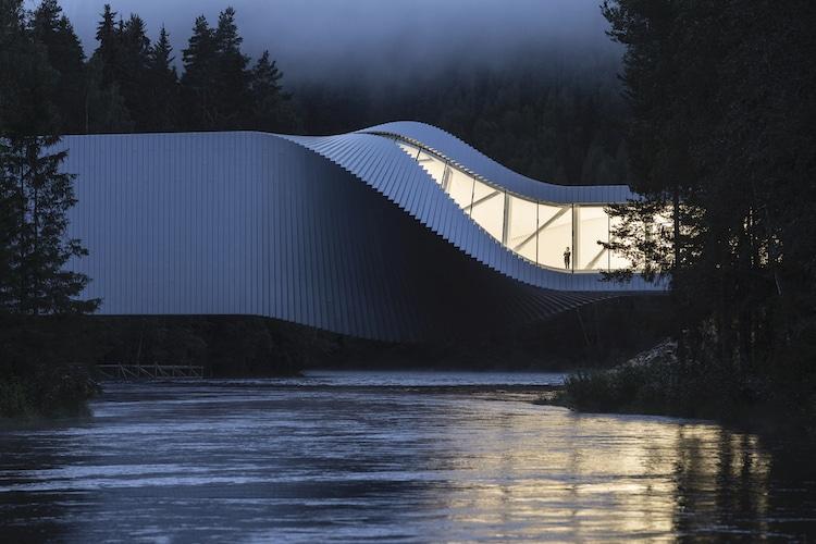 puente moderno por Bjarke Ingels