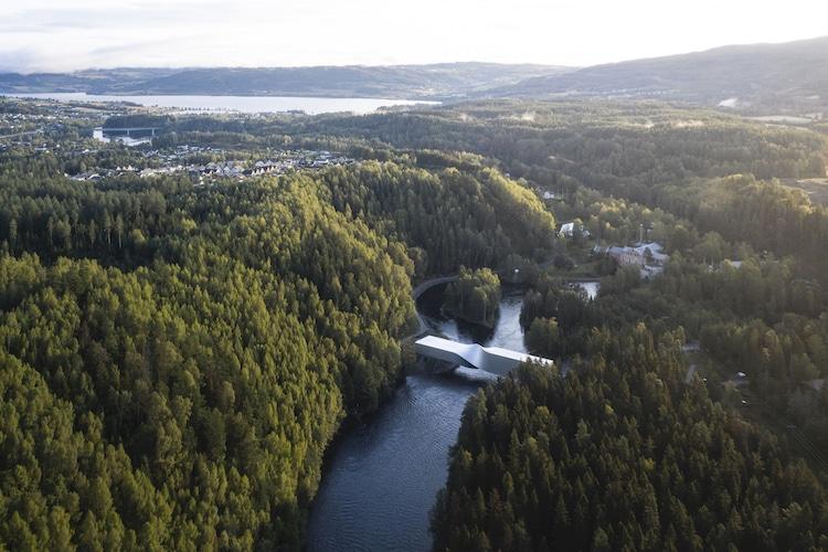 parque escultórico en noruega