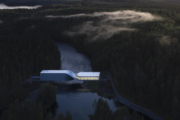 puente moderno por Bjarke Ingels Group