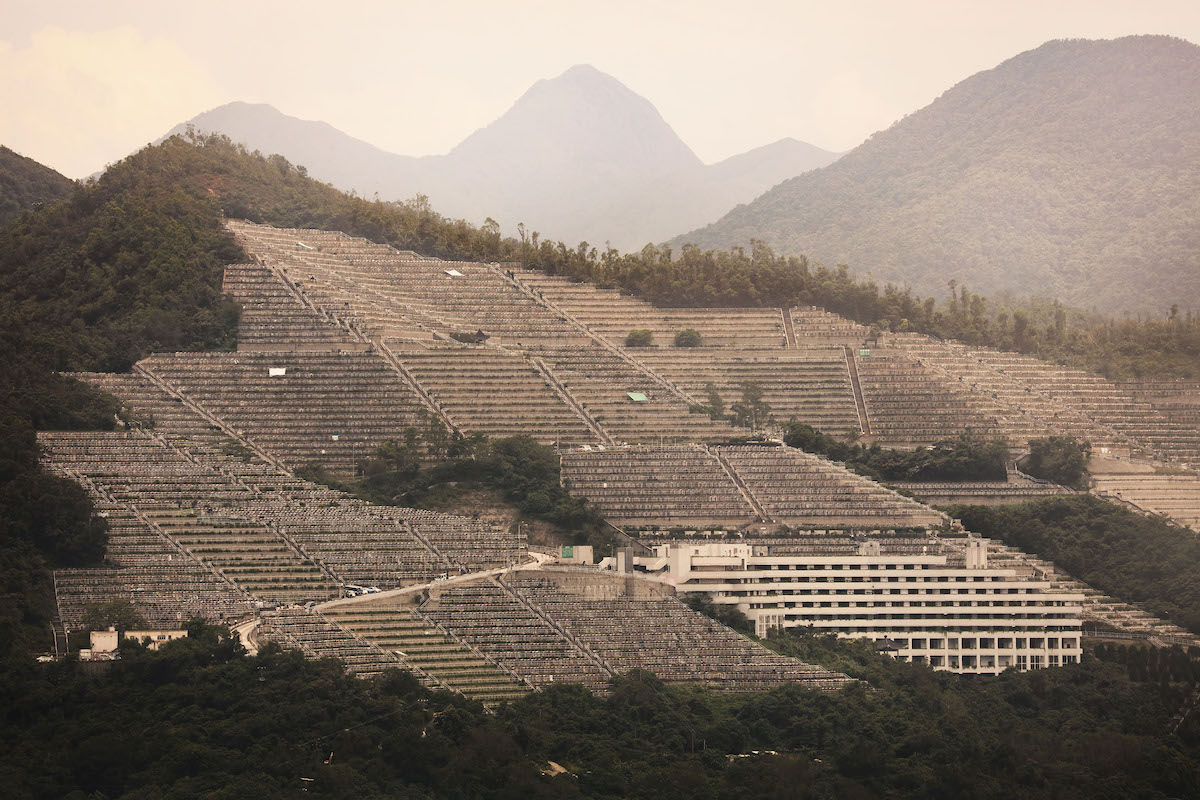 Hillside Cemetery in Hong Kong