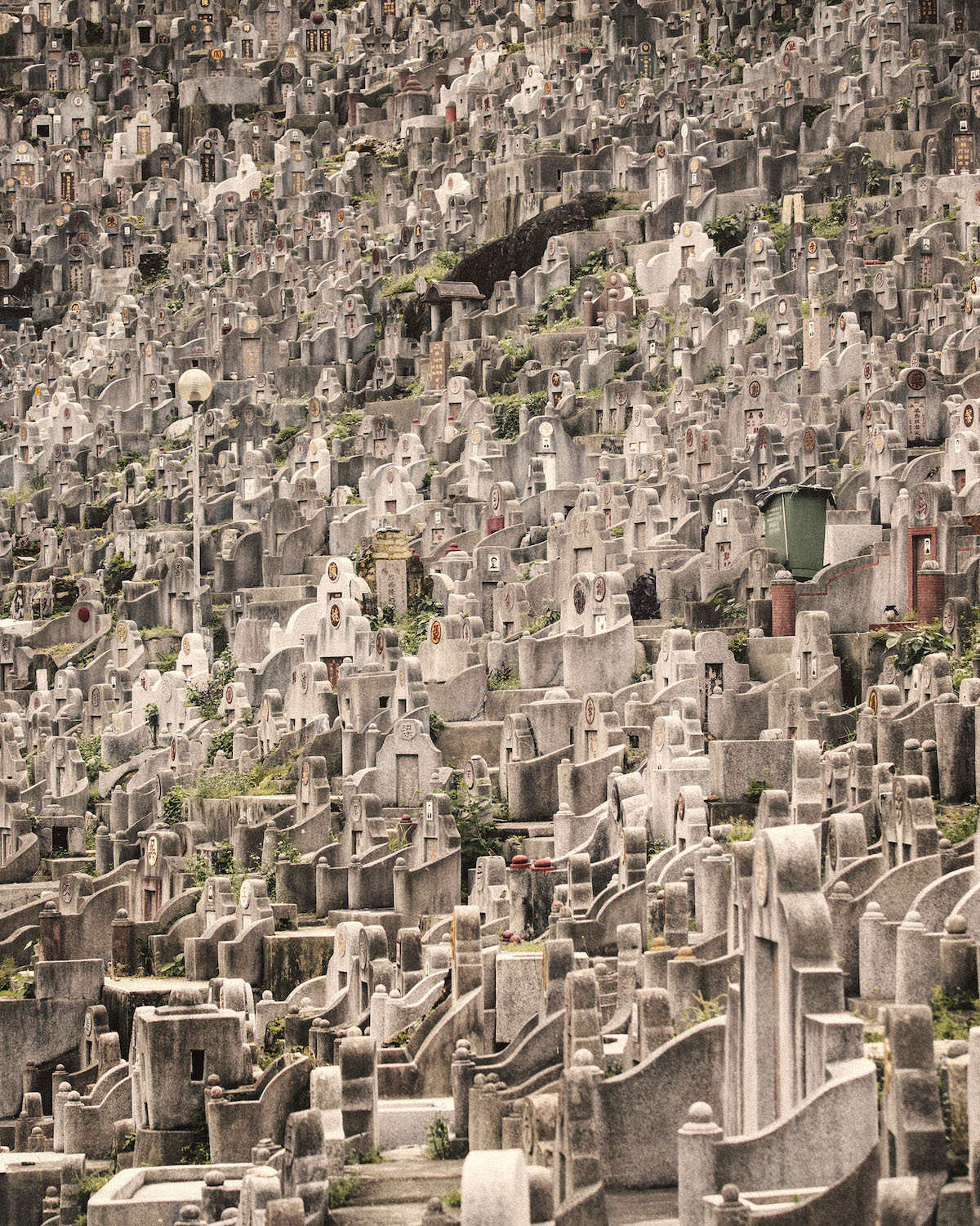 Burial Site in Hong Kong by Finbarr Fallon