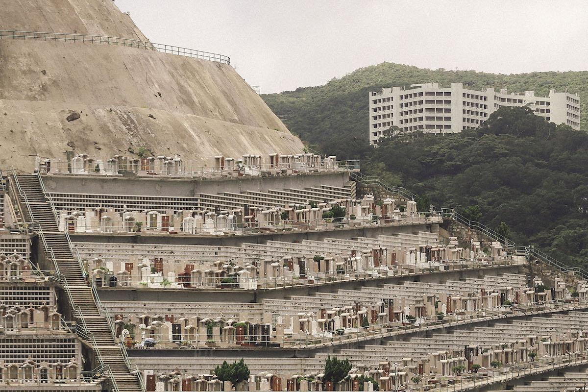 Cementerio de Chai Wan en Hong Kong