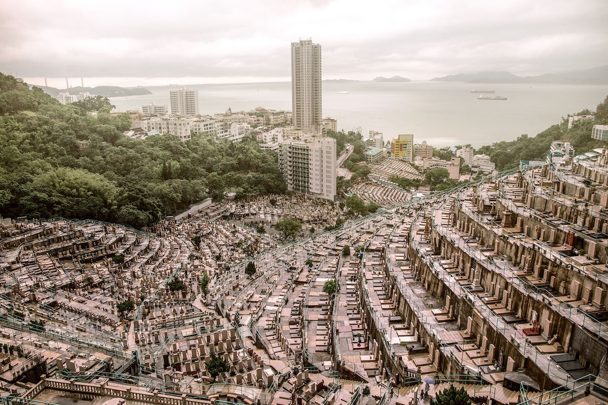 Vertical Graveyard in Hong Kong