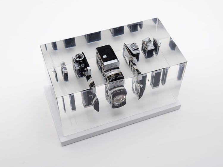Dissected Nikon Camera