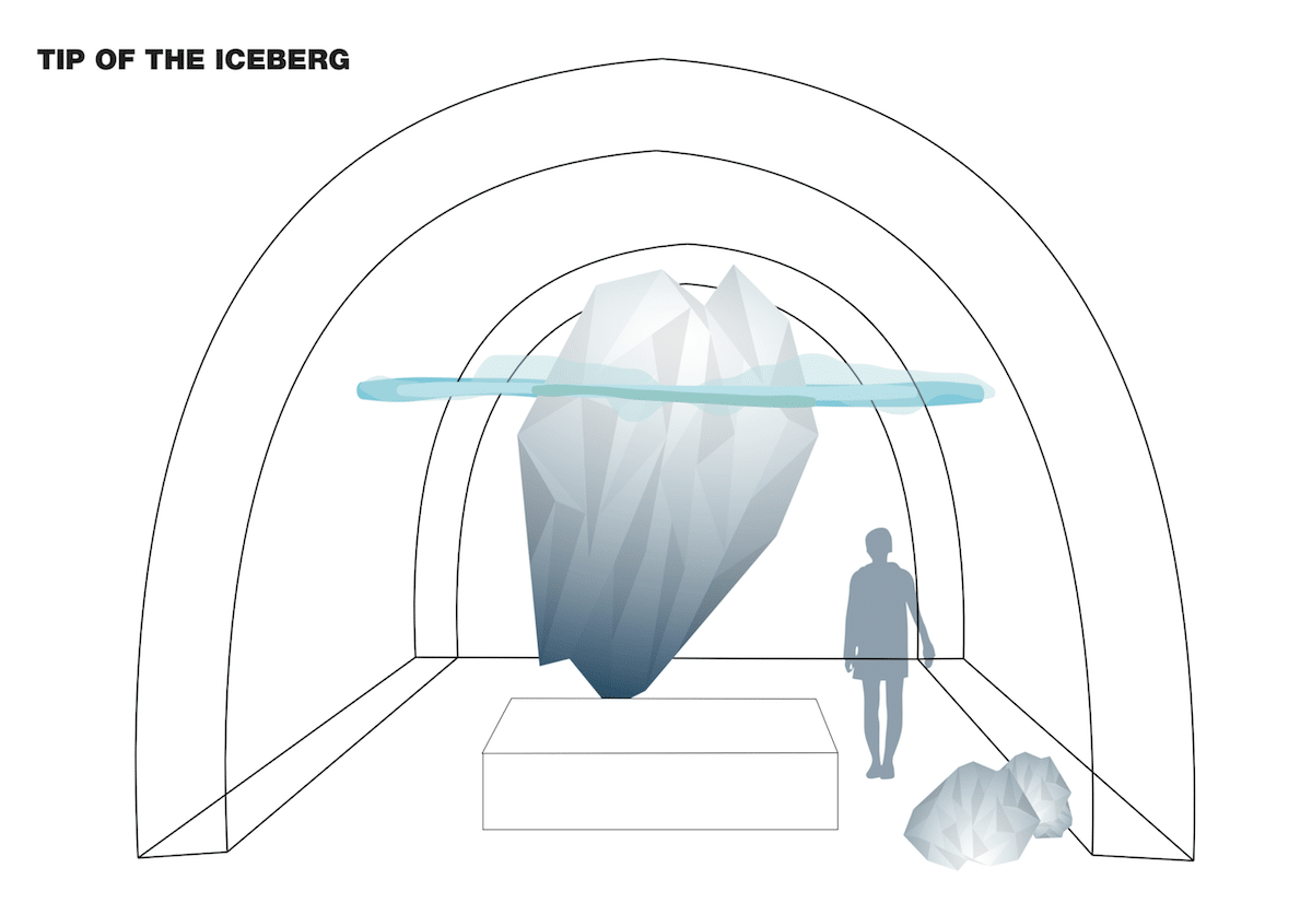 Diseño para hotel de hielo