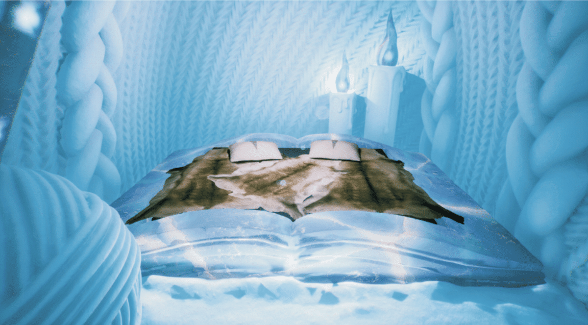 Room Designs for Ice Hotel in Sweden