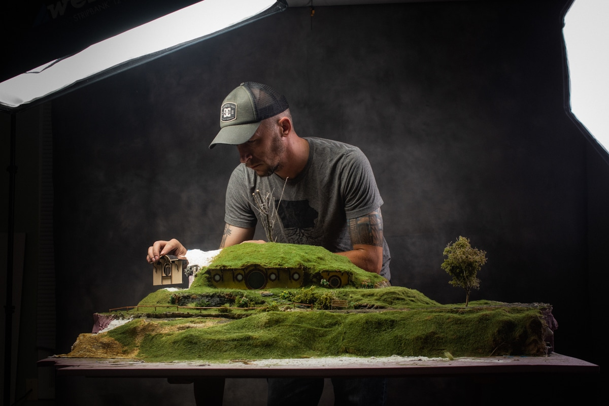 Nick Busch Scale Model Photography of Lord of the Rings
