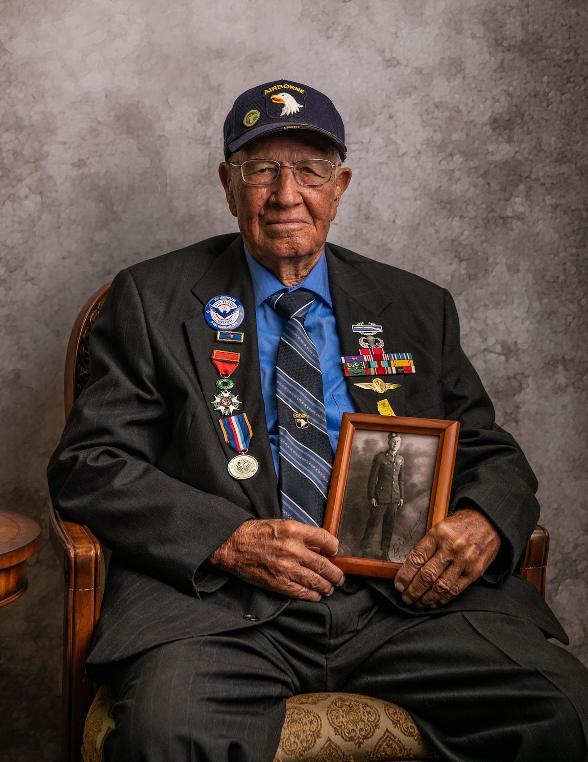 Portraits of World War II Veterans by Jeffrey Rease