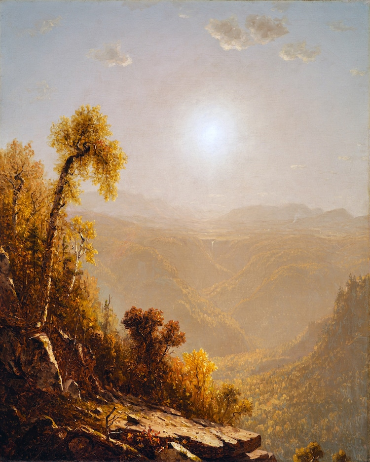 Characteristics of the Hudson River School