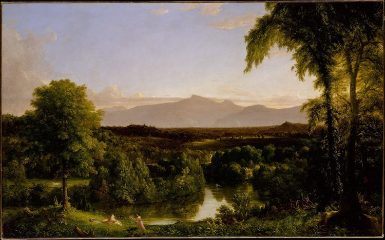 American Landscape Painting by Thomas Cole