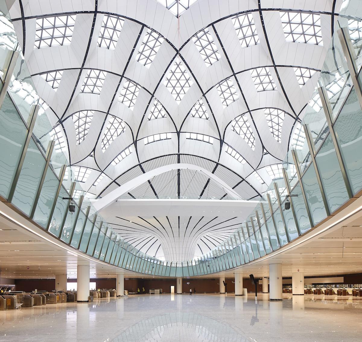 Daxing International Airport in Beijing by ZHA