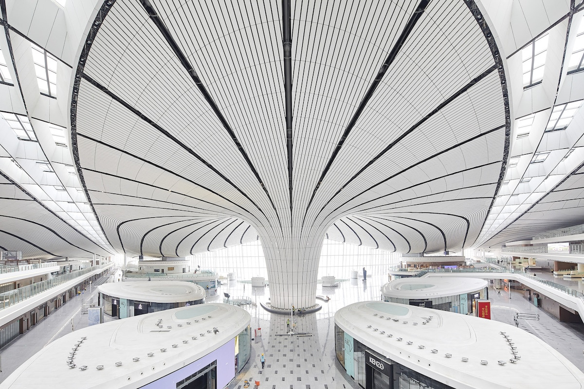 Daxing International Airport in Beijing by Zaha Hadid Architects