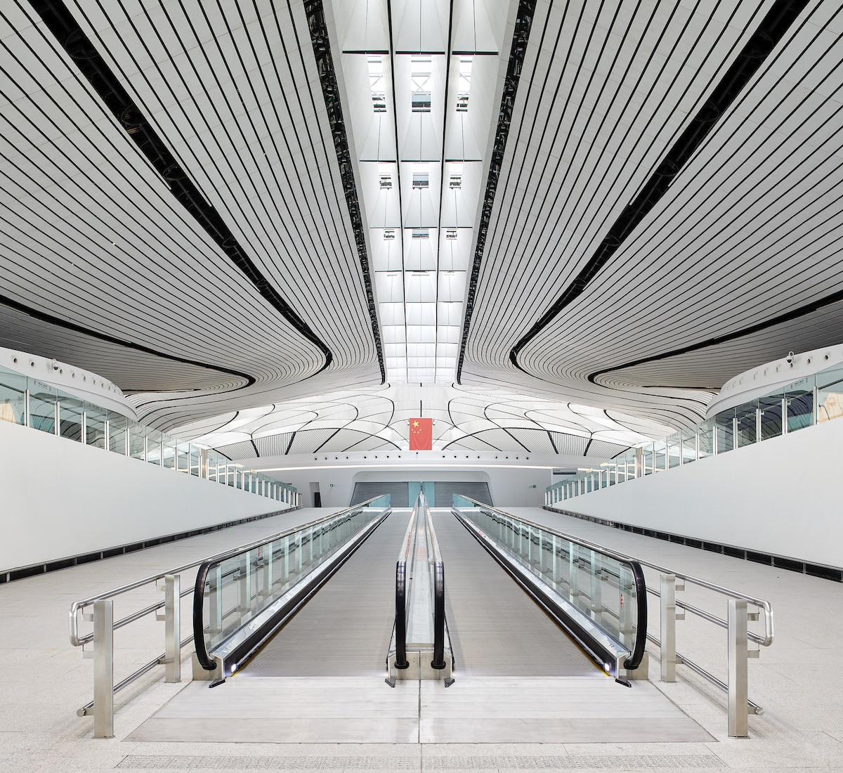 Contemporary Airport in China