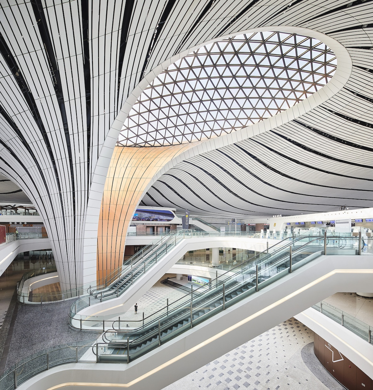 New Airport in China by ZHA