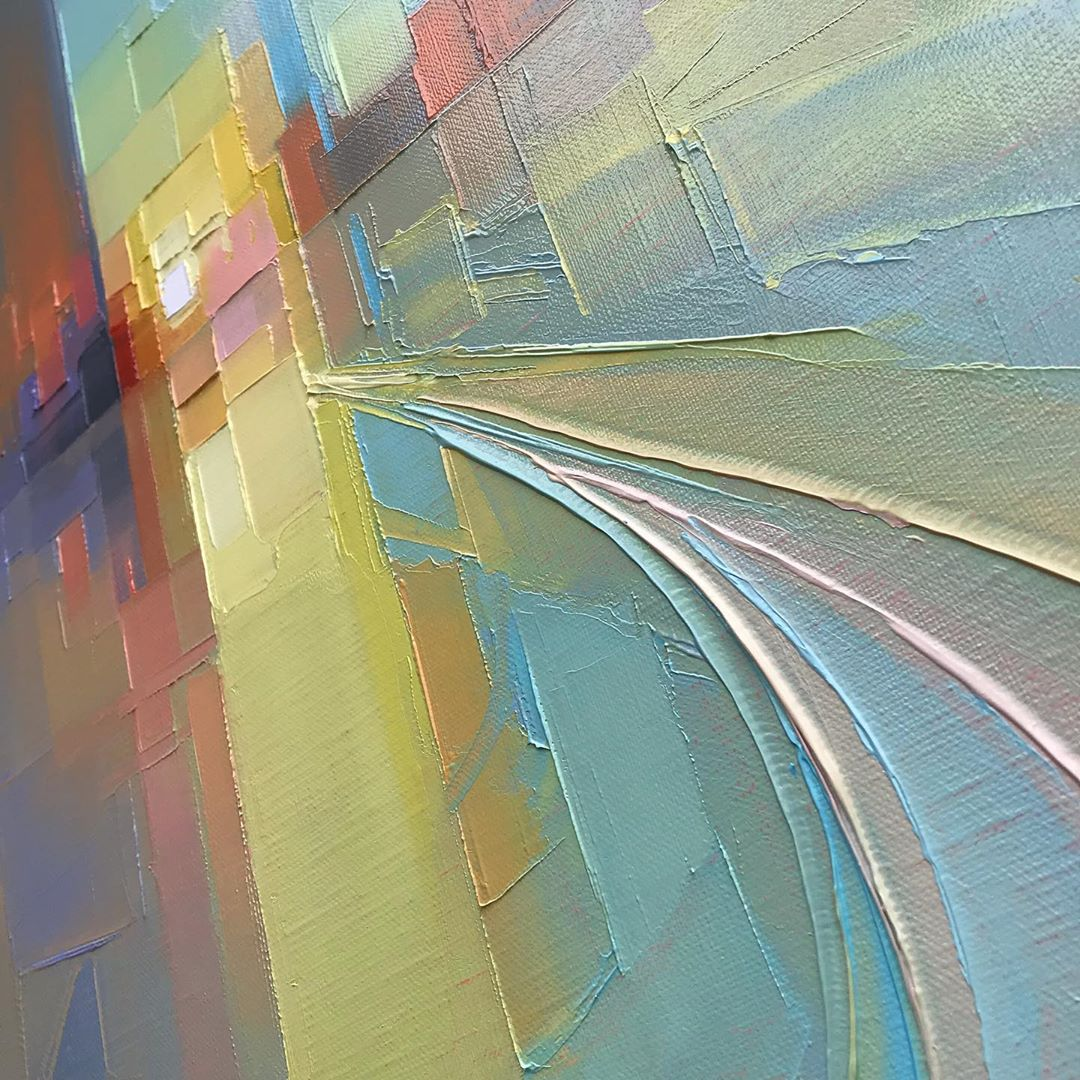 Abstract Paintings by Jason Anderson