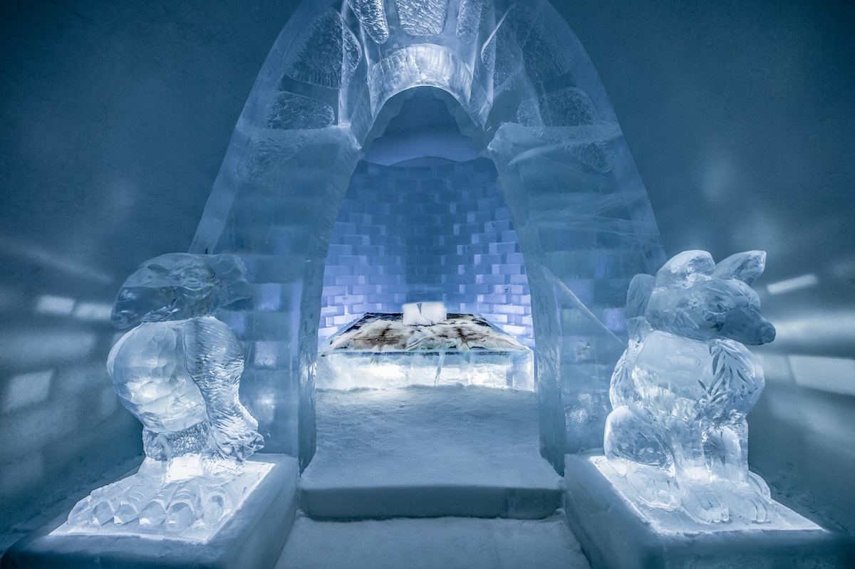 Art Suite at Icehotel Sweden