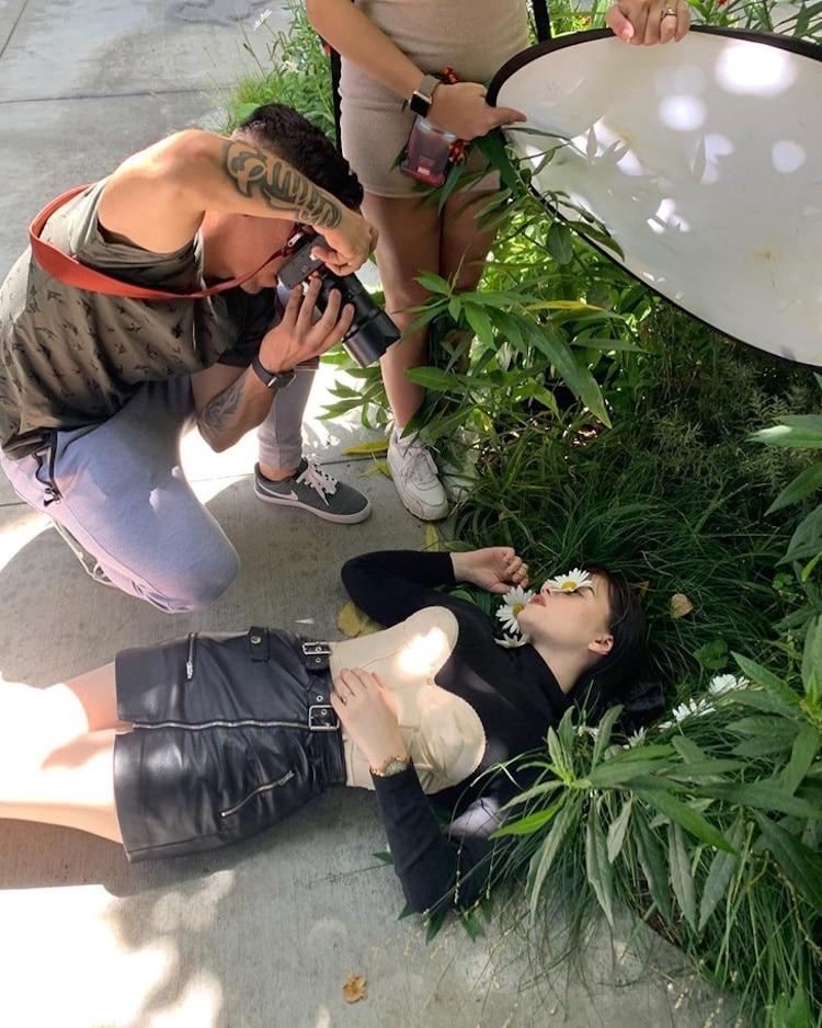 Behind The Scene Photoshoot Tricks by Geo Leon