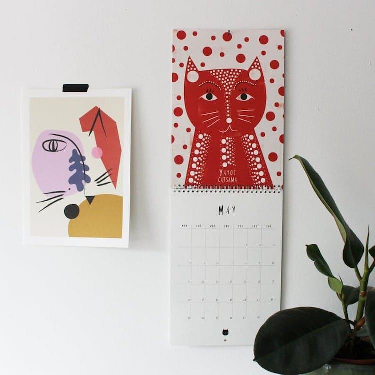 Cat Art History