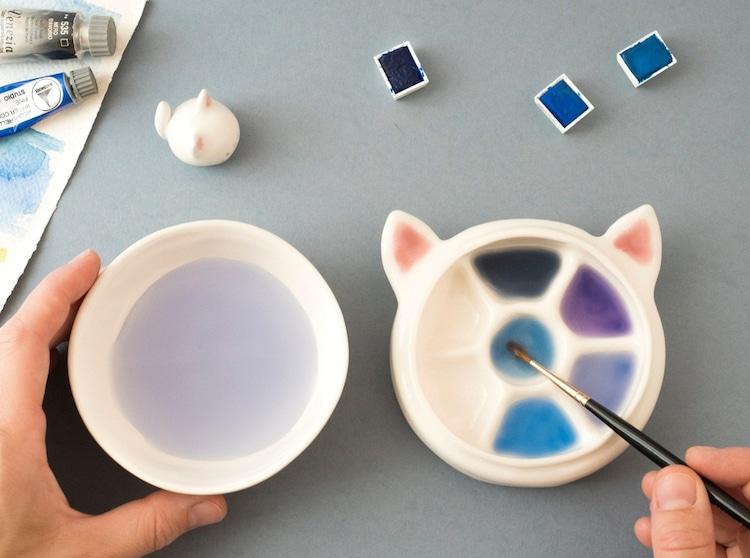 Ceramic Paint Palettes Tramai Ceramics