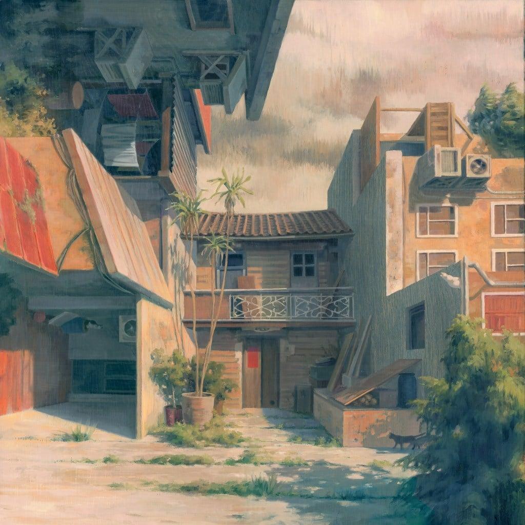 Pinturas arquitectónicas surrealistas