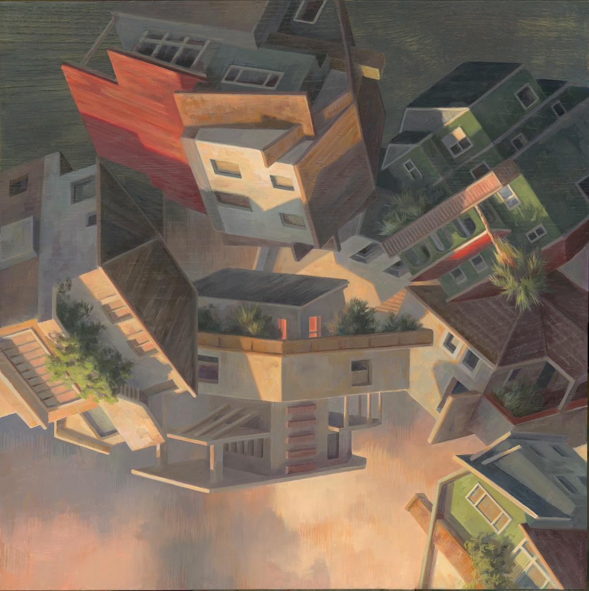 Pinturas surrealistas de Cinta Vidal