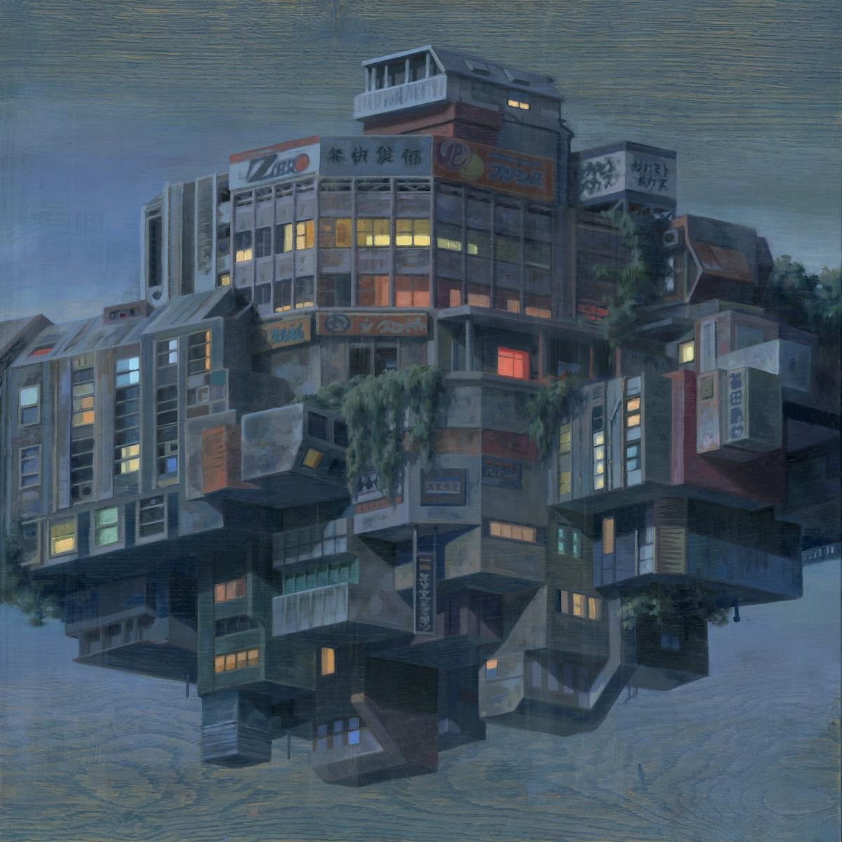 Pinturas de arquitectura surrealista