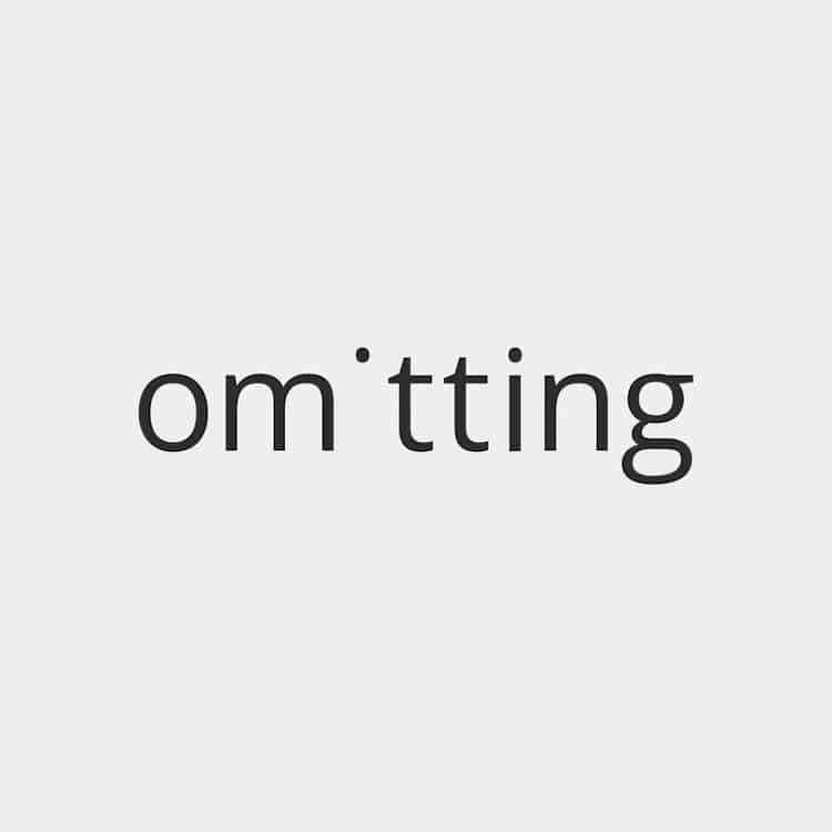 Minimalist Typographic Design