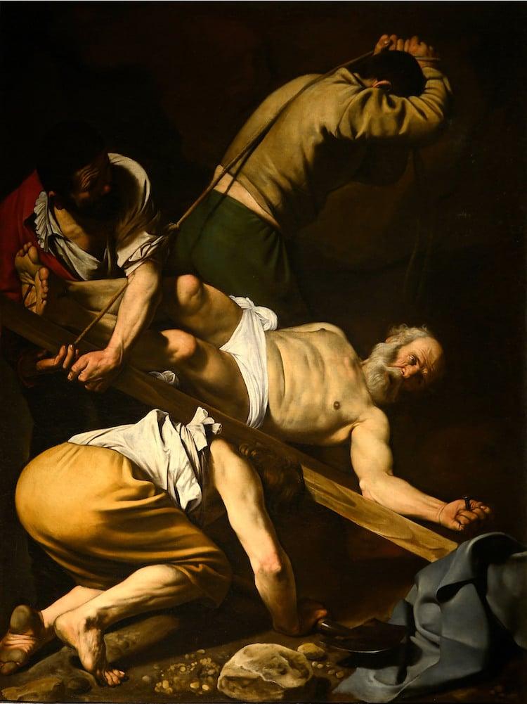 Crucifixión de San Pedro de Caravaggio