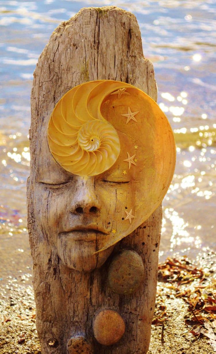 Driftwood Art by Debra Bernier