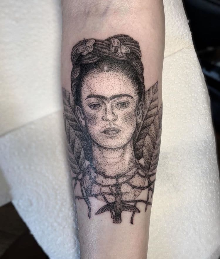 Dotwork Tattoos by Annita Maslov