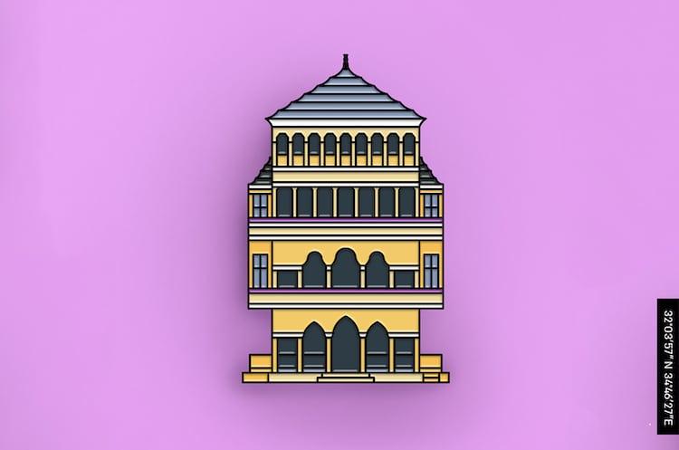 pins de edificios